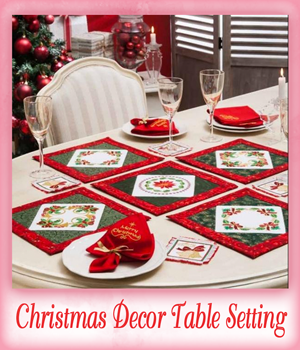 Christmas D�cor Table Setting