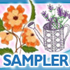 Free Machine Embroidery Sample