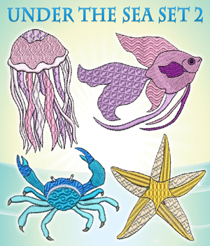 Under The Sea Set 2
