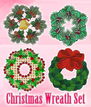 Christmas Wreath Set