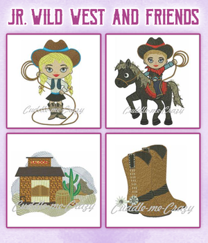 Jr. Wild West and Friends
