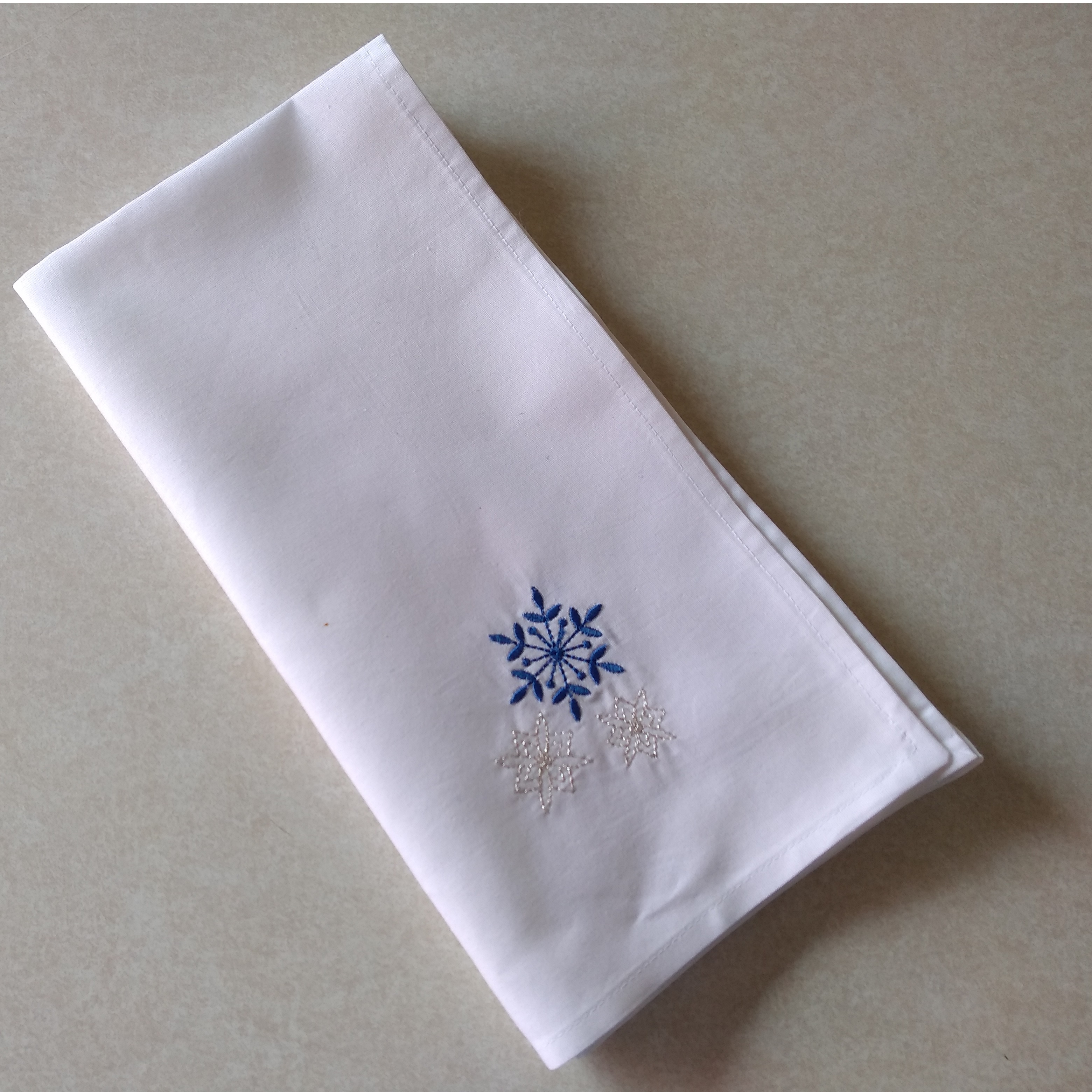 Snowflake Gift Stocking Complete Project Kit, CD & Instructions-6
