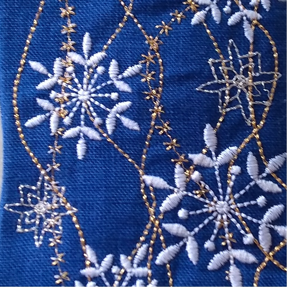 Snowflake Gift Stocking Complete Project Kit, CD & Instructions-8