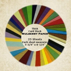 Mulberry Paper Card Stock