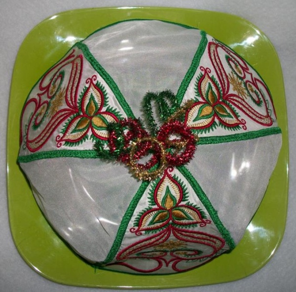 Oriental Plate Cover For Christmas