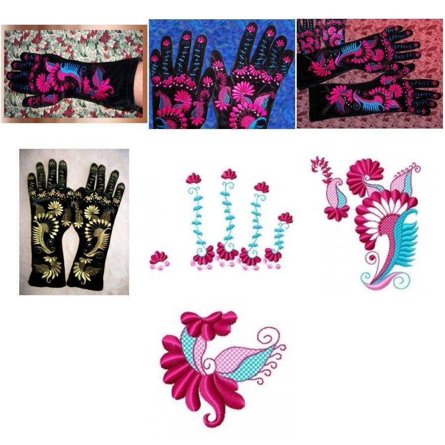 Velvet Party Gloves Project