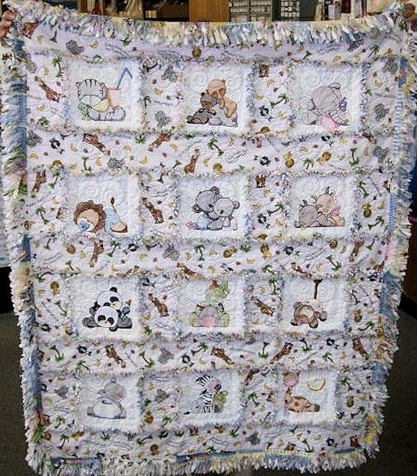 Zoo Animal Quilt Blocks