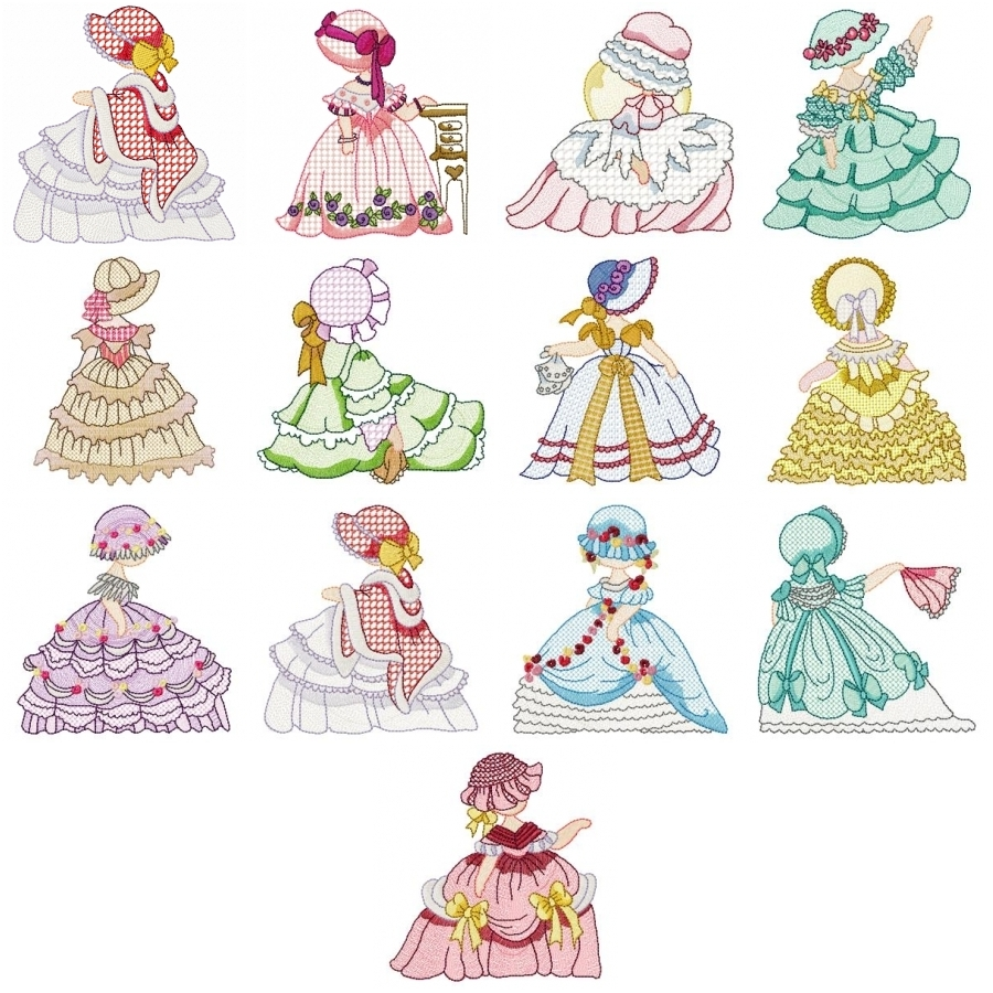 PAMS VICTORIAN LADIES