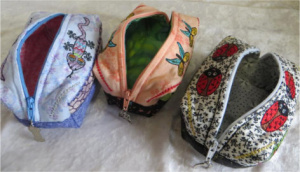 ITH Boxed Zipper Pouches
