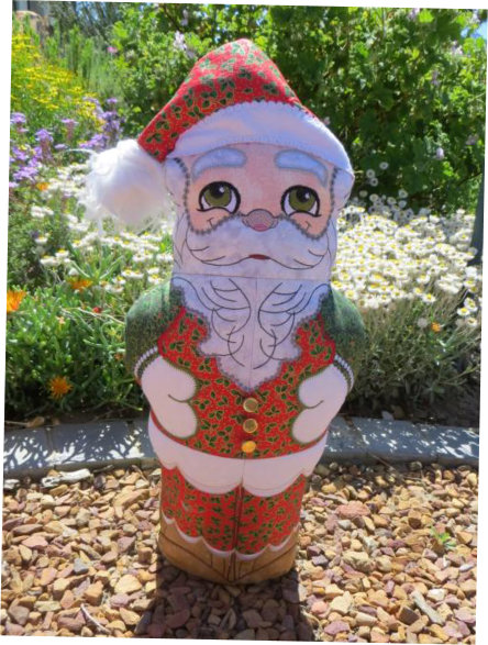 ITH Quilted Santa -3