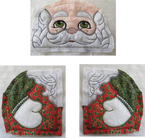 ITH Quilted Santa -5