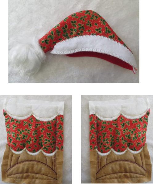 ITH Quilted Santa -6