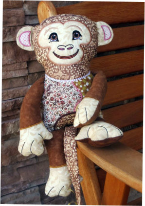 Monkey Shelf Sitters