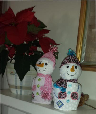 ITH Decorative Snowman -6