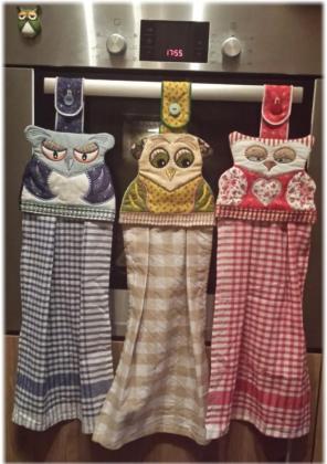 ITH Towel Hoots