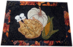 ITH Thanks Giving Table Topper