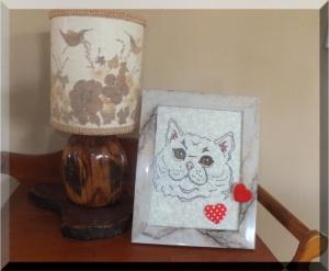 Kitty Cat Mug Rug