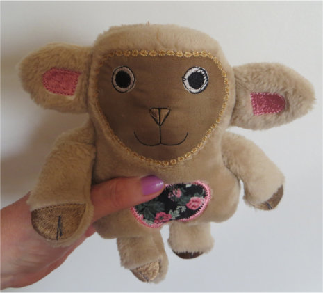ITH Soft Toy Little Sheep