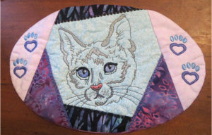 ITH Maxi Mur Rug With Cat Design