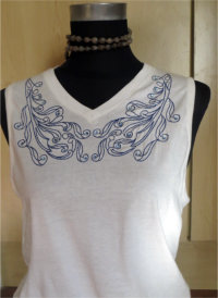 One Hooping Neck Lines