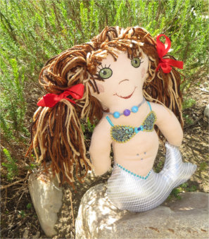 ITH Mermaid Doll