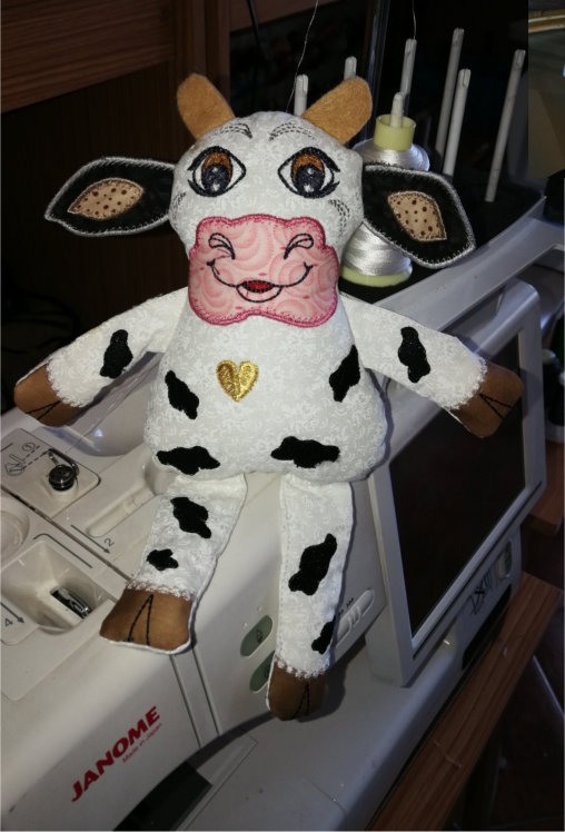 ITH Soft Toy Cute Cow