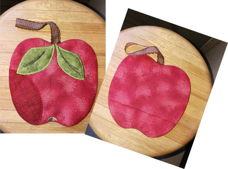 ITH Apple Potholder