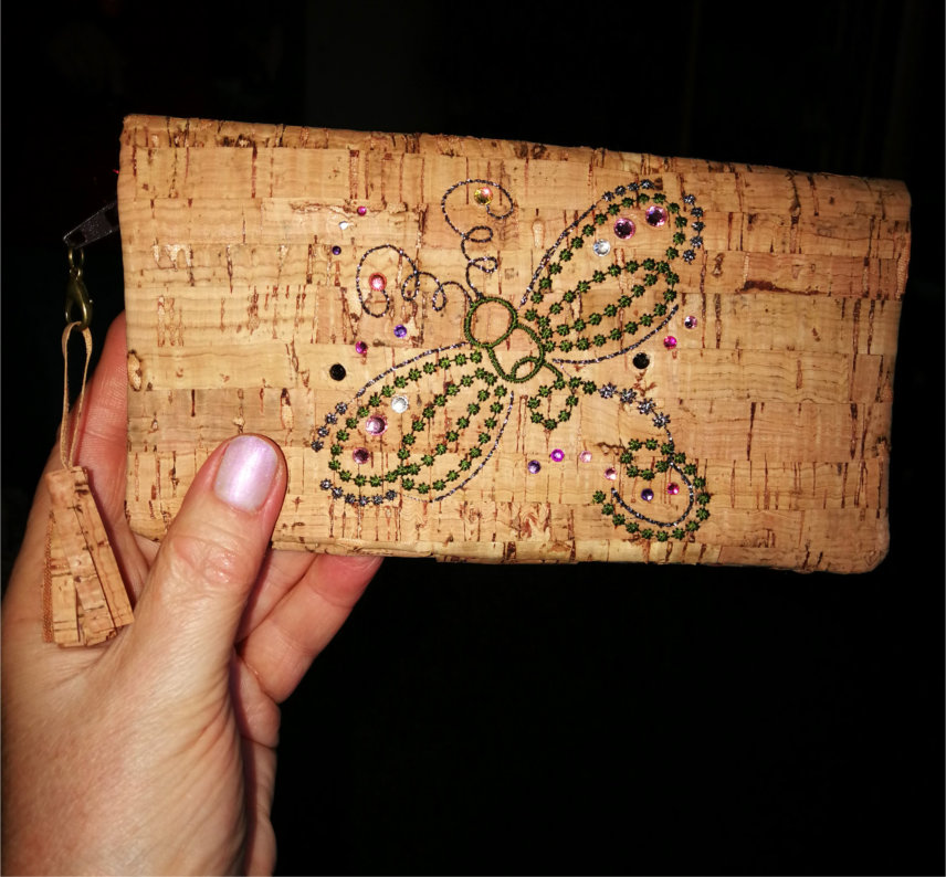 Elegant Cork Phone Wallet-3