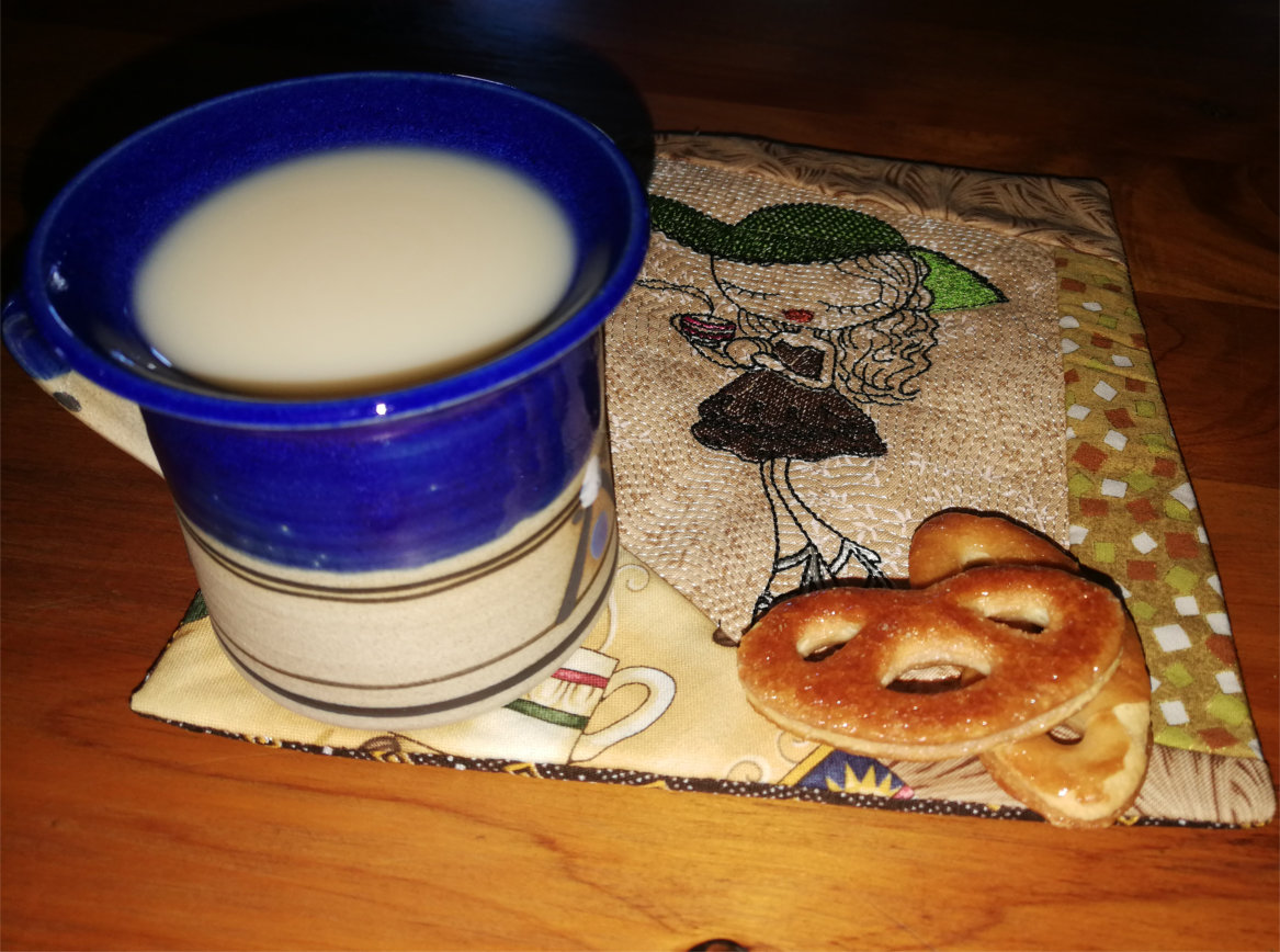 Coffee Time Mug Rug-4
