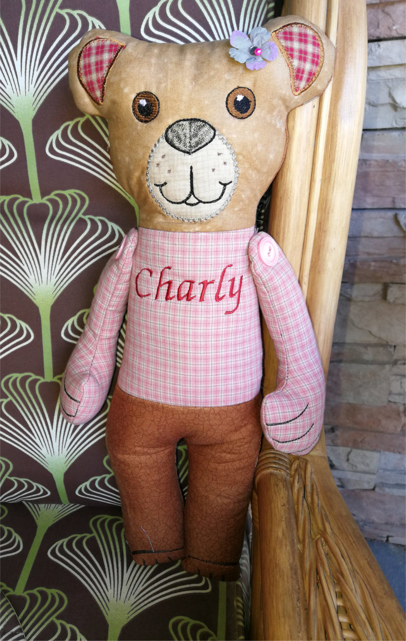 Charly The Cute Teddy-4