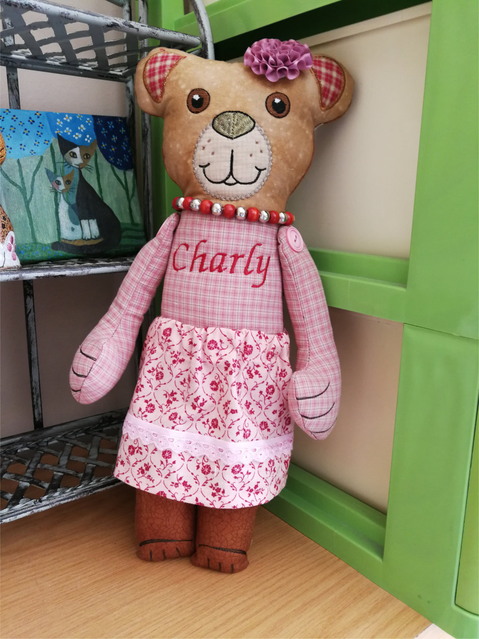 Charly The Cute Teddy-6