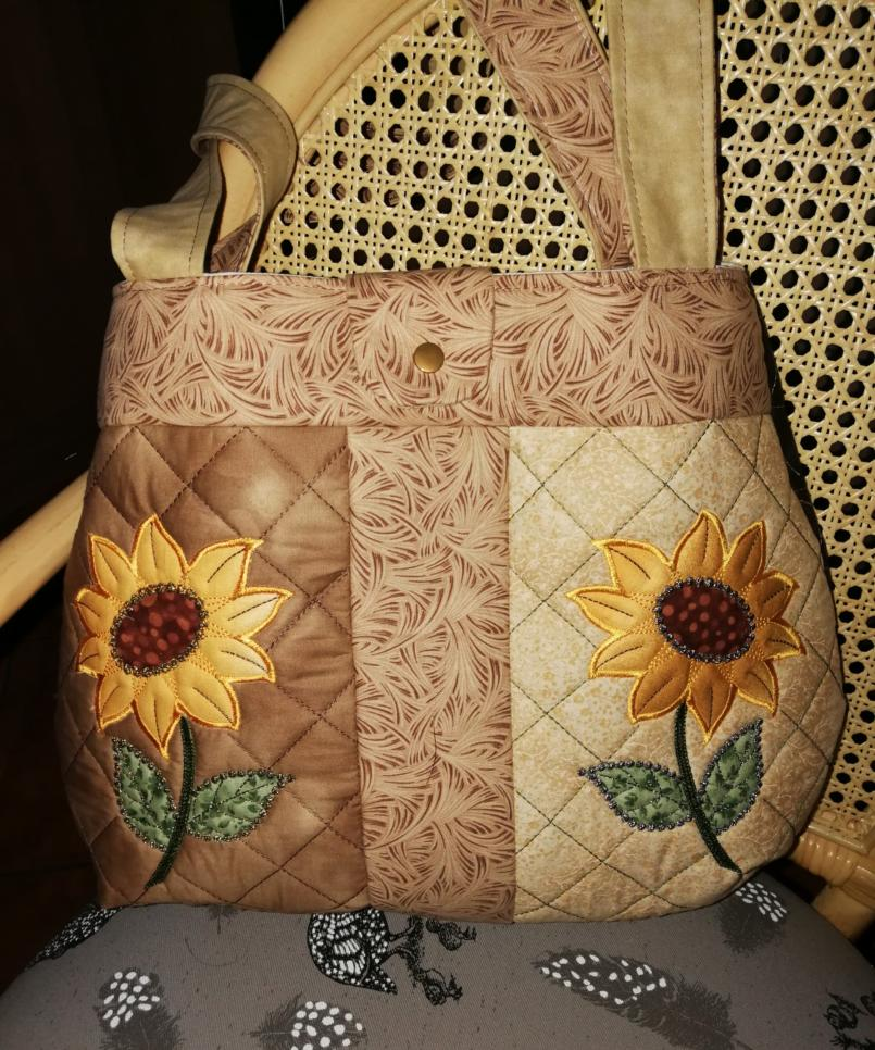 Sunflower BOHO Shoulder Bag-3