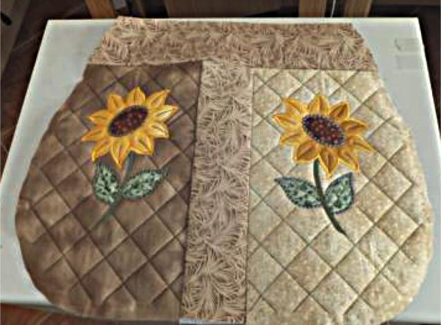 Sunflower BOHO Shoulder Bag-9