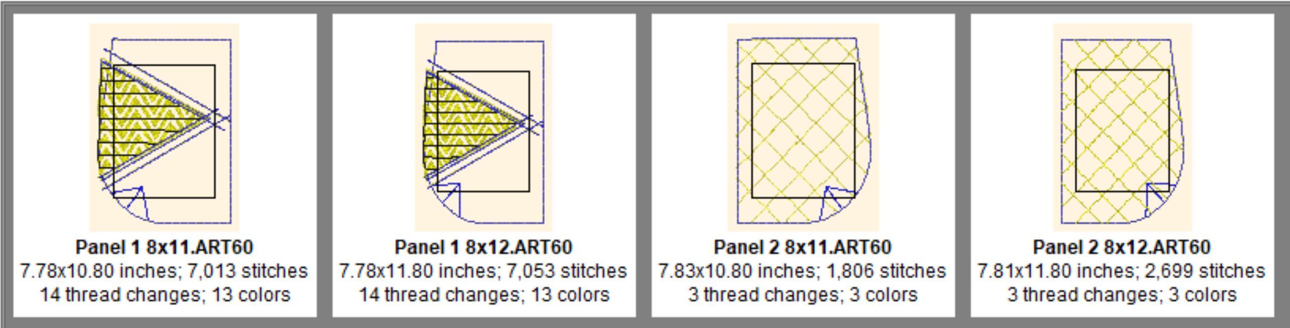 2 Panel Batik BOHO Shoulder Bag-4