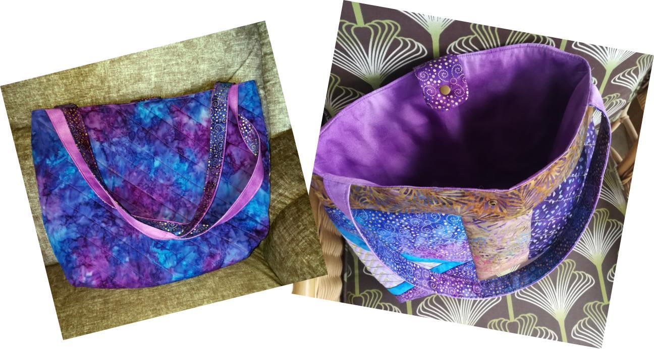 2 Panel Batik BOHO Shoulder Bag-5