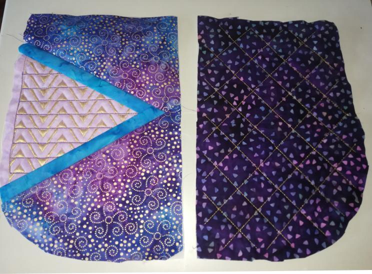 2 Panel Batik BOHO Shoulder Bag-6