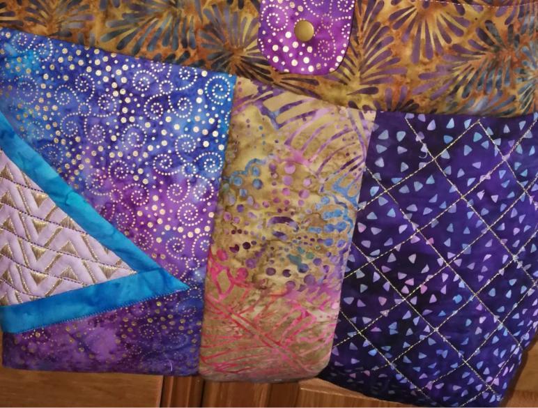 2 Panel Batik BOHO Shoulder Bag-7