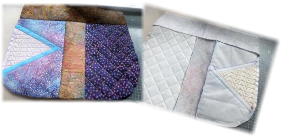 2 Panel Batik BOHO Shoulder Bag-9