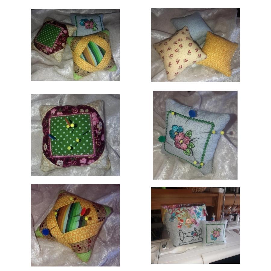 One Hooping Cute Pin Cushions