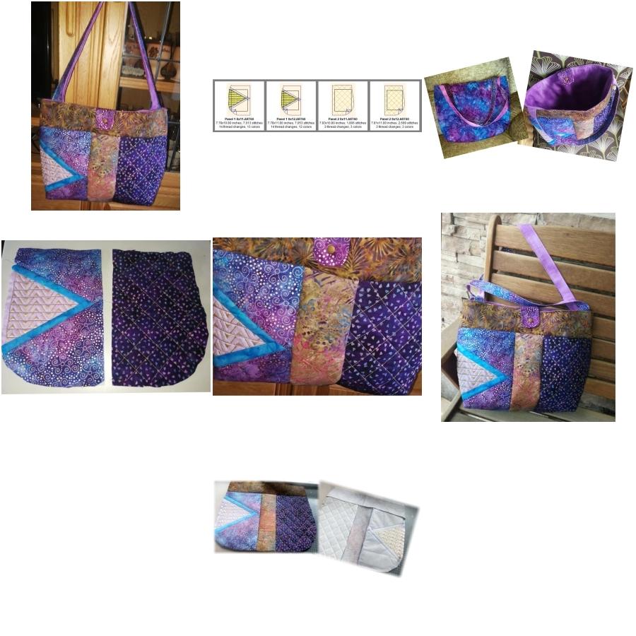 2 Panel Batik BOHO Shoulder Bag