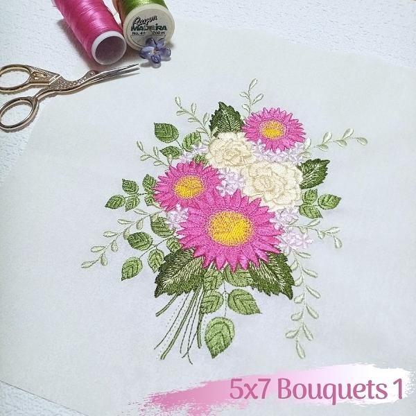 5x7 Bouquets 1 -3