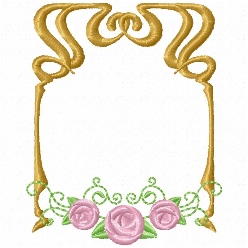 Art Nouveau Frames -6