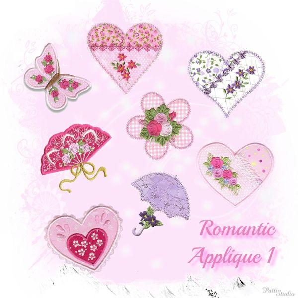 Romantic Applique 1 -3