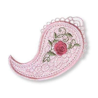 Dusky Rose Applique-4