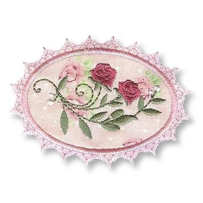 Dusky Rose Applique-6