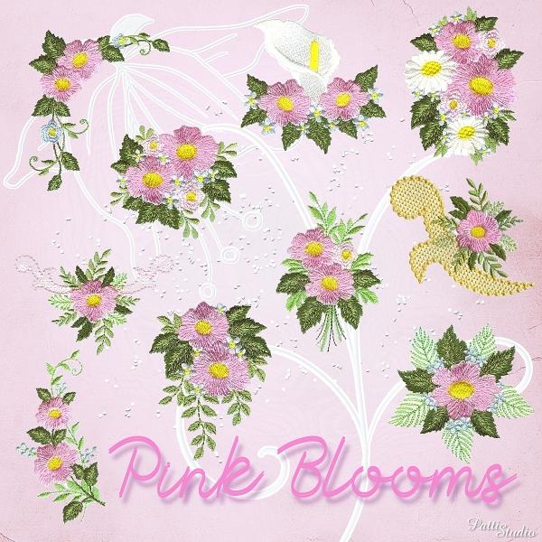 Pink Blooms -3