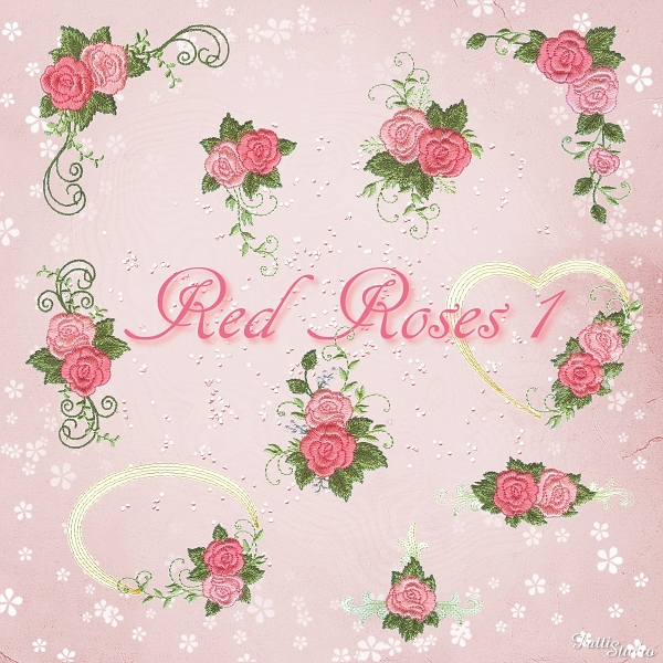 Red Roses 1 -3