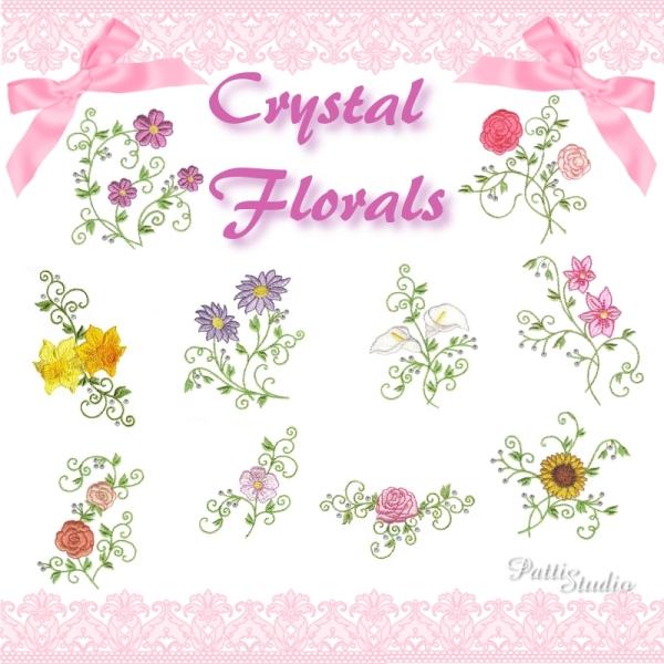 Crystal Florals -3