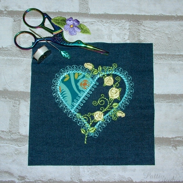 Applique Hearts 1 -5