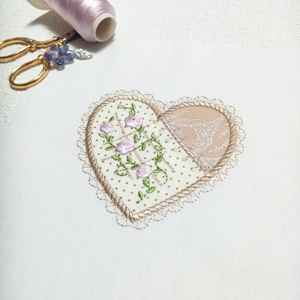 Applique Hearts 1 -6